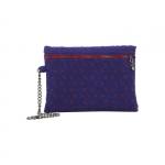 Pochette - O Bag Pochette Feltro Bordeaux / Blu