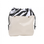 Accessori - O Bag Canvas O BAG Coulisse Zebra