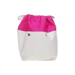 Accessori - O Bag Canvas O BAG MINI Coulisse  Summer Magenta