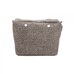 Accessori - O Bag Canvas O BAG MINI Zip Puntinato Marrone / Beige