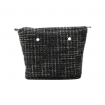 Accessori - O Bag Canvas O BAG Tweed Nero
