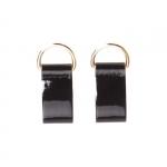 Accessori - O Bag Coppia di Chiusura Clip O Bag Pocket in Vernice Nero