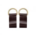 Accessori - O Bag Coppia di Chiusura Clip O Bag Pocket in Pelle Testa di Moro