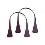 Accessori - O Bag Doppio Manico Effetto Saffiano Xs Corto Angular Viola