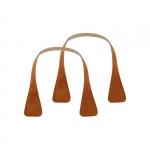 Accessori - O Bag Doppio Manico in Eco Pelle Xs Corto Angular Naturale