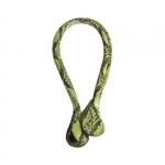 Accessori - O Bag Doppio Manico in Eco-pelle Lungo Snake Giallo