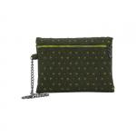 Pochette - O Bag Pochette Feltro Giallo / Verde