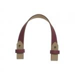 Accessori - O Bag Tracollina Corta In Ecopelle Invecchiata Singola Rosa