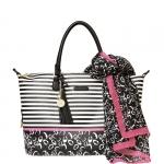 Shopping bag - Pash BAG by L'Atelier Du Sac Borsa Shopping Bag Zebrine Menton