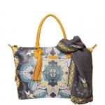 Shopping bag - Pash BAG by L'Atelier Du Sac Borsa Shopping Bag Midnight Sun Menton