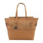 Shopping bag - Scervino Street  Borsa Shopping Bag L Etoile Laser & Studs Natural