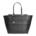 Shopping bag - Scervino Street  Borsa Shopping Bag L Etoile Laser & Studs Black