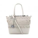 Shopping bag - Scervino Street  Borsa Shopping Bag S Etoile Laser & Studs Off White