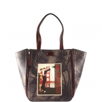 Shopping bag - Y Not? Borsa Shopping Bag L San Francisco E-46