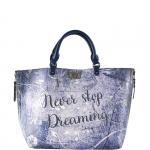 Shopping bag - Y Not? Borsa Shopping Bag M Never Stop Dreaming E-41