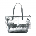 Shopping bag - Y Not? Borsa Shopping Bag M Snowy Flirt Grey Parigi