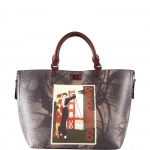 Shopping bag - Y Not? Borsa Shopping Bag M San Francisco E-41