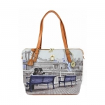 Shopping bag - Y Not? Borsa Shopping Bag Michelle M New York Blu