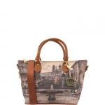 Shopping bag - Y Not? Borsa Shopping Bag S Cuoio Gold Piazza Di Spagna Roma G-395