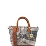 Shopping bag - Y Not? Borsa Shopping Bag S Cuoio Gold Metro Parisienne Parigi G-395