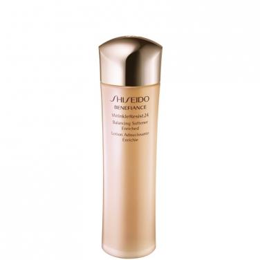 shiseido benefiance wrinkle resist 24 balancing softener enriched lozione riequilibrante viso. Black Bedroom Furniture Sets. Home Design Ideas