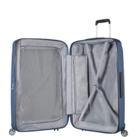 vendita calda design di qualità a basso prezzo Samsonite Valigia Trolley Starfire Spinner L Blue cod. 26151