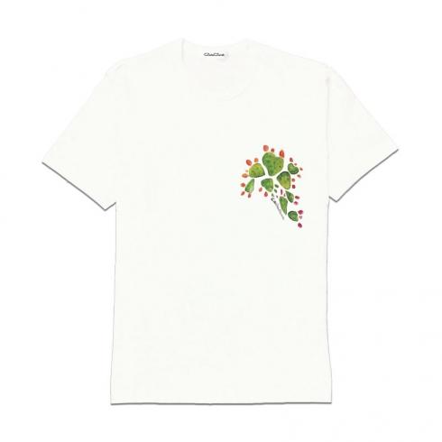 T-Shirt in cotone dipinta a mano CCT10