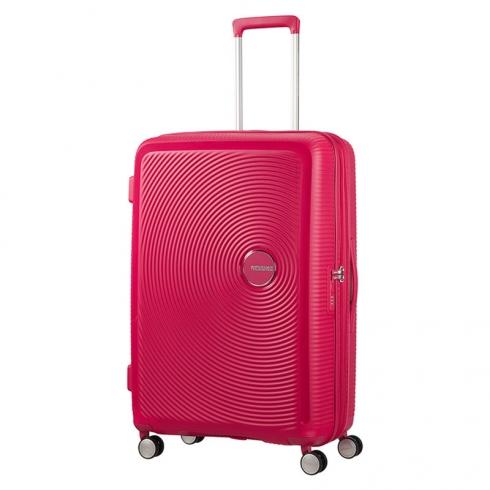 Valigia Trolley Soundbox Spinner Exp L Lightning Pink