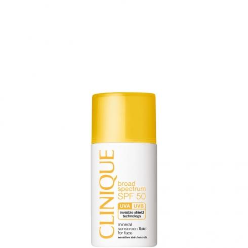 Mineral Sunscreen Lotion For Face SPF 50 - Fluido Protettivo Viso Pelli Sensibili
