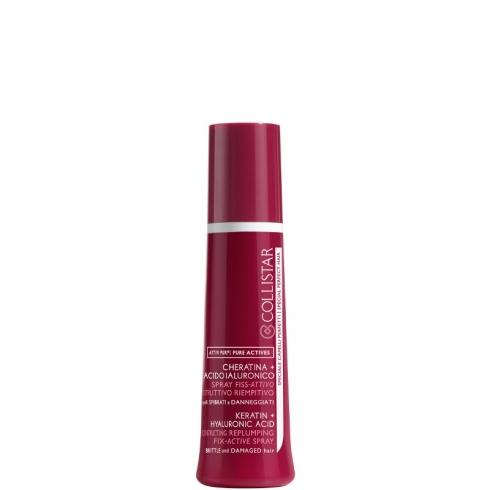 Spray Fiss-Attivo Ricostruttivo Riempitivo - Linea Attivi Puri Cheratina + Acido Ialuronico