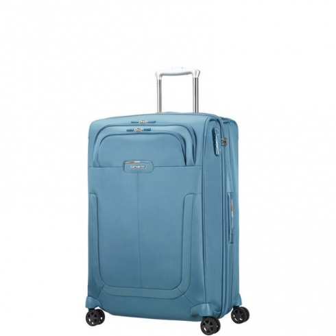 Valigia Trolley Duosphere Exp. Spinner M Niagara Blue
