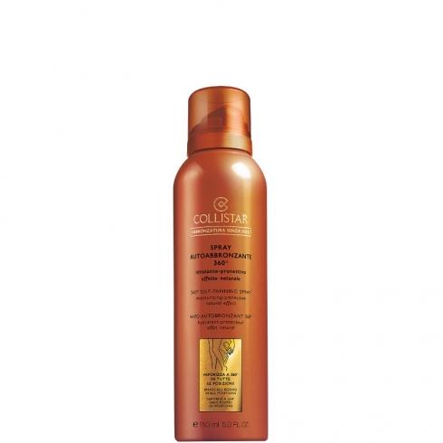 Spray Autoabbronzante 360° Idratante-Protettivo Effetto Naturale - Vaporizza a 360°