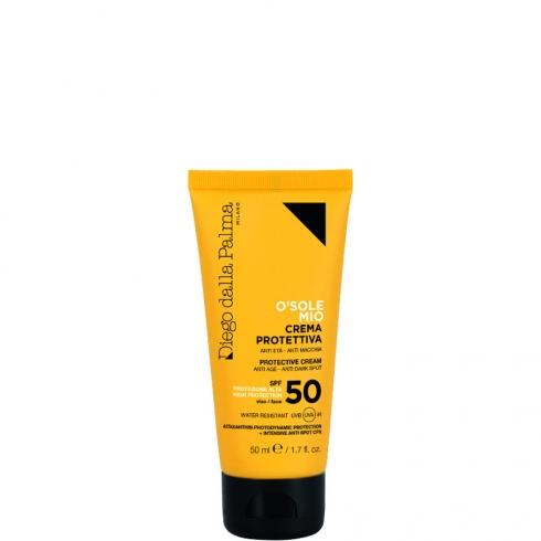 O'Sole Mio - Crema Protettiva Anti-Età Anti-Macchia SPF 50 Viso