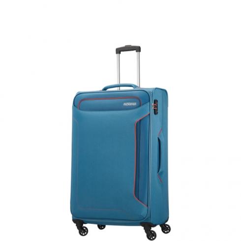 Valigia Trolley Holiday Heat Spinner M Denim Blue