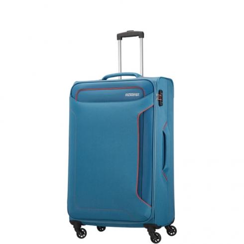 Valigia Trolley Holiday Heat Spinner L Denim Blue