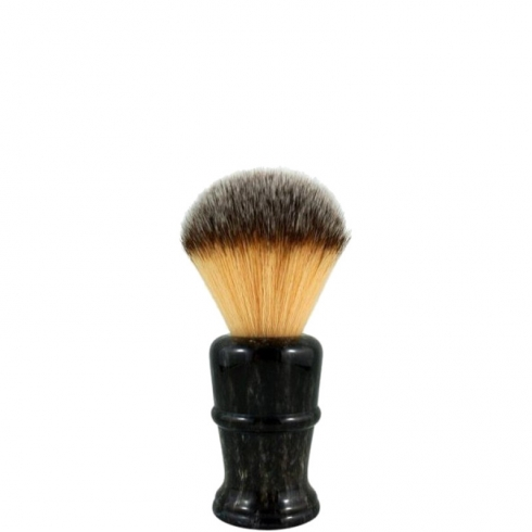Shaving Brush Faux Horn Disruptor Plissoft Synthetic