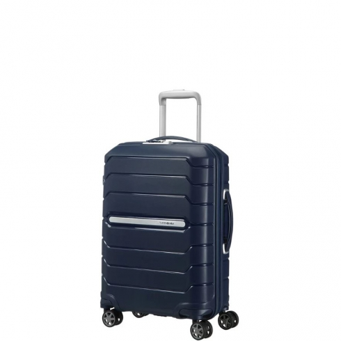 Valigia Trolley Flux Spinner Exp S Navy Blue