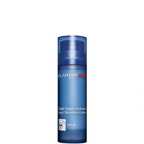 Fluide Super Hydratant - Fluido Viso Super Idratante SPF 20 - ClarinsMen