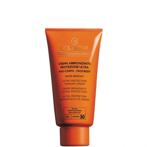 Crema Abbronzante Protezione Ultra Viso e Corpo Spf 30 - Water Resistant