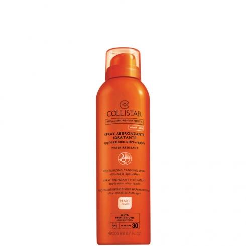 Spray Abbronzante Idratante Applicazione Ultra-Rapida SPF 30 - Water Resistant