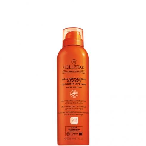 Spray Abbronzante Idratante Applicazione Ultra-Rapida Spf 10