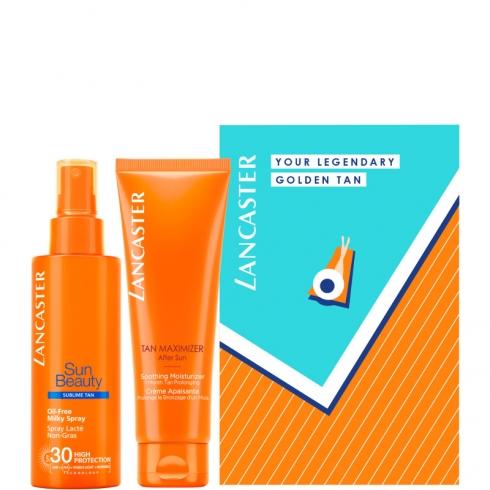 Sun Beauty - Oil - Free Milky Spray SPF 30 + After Sun Tan Maximizer