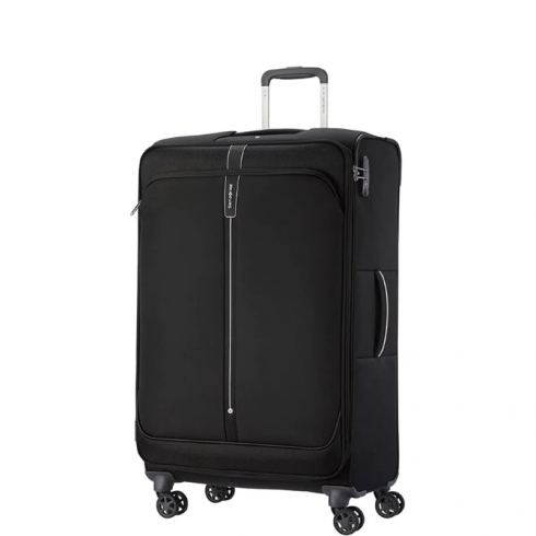Valigia Trolley PopSoda Spinner Exp L Black