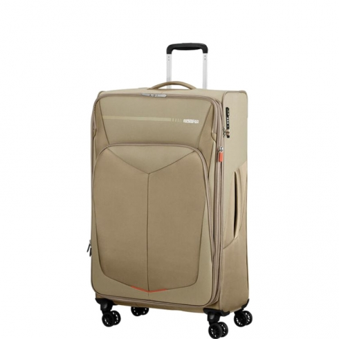Valigia Trolley SummerFunk Spinner EXP L Beige