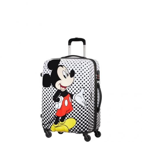Valigia Trolley Disney Legend Spinner S AlfaTwist 2.0 Mickey Mouse Polka Dot