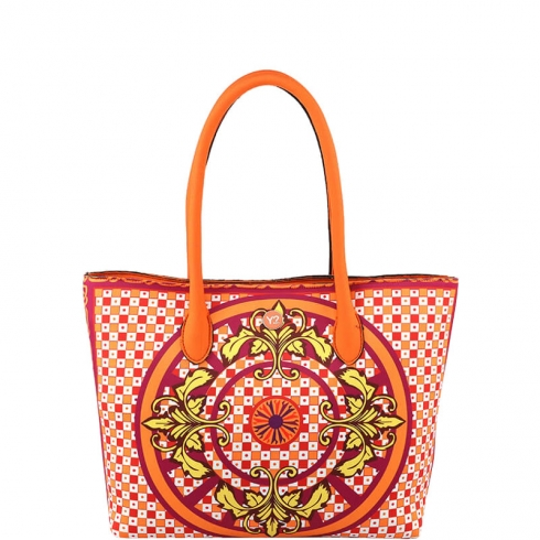 Borsa Shopping Bag L PAN002 Orange