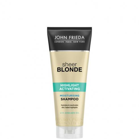Sheer Blonde Shampoo Idratante Attivatore di Luminosità