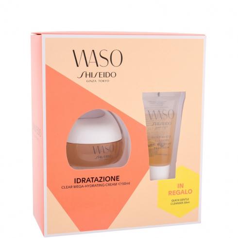 Waso Clear Mega-Hydrating Cream - Crema Idratante Viso Confezione