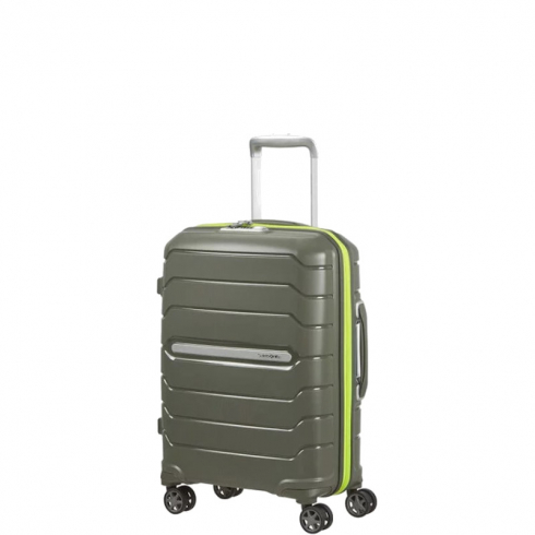 Valigia Trolley Flux Spinner Exp S Dark Olive