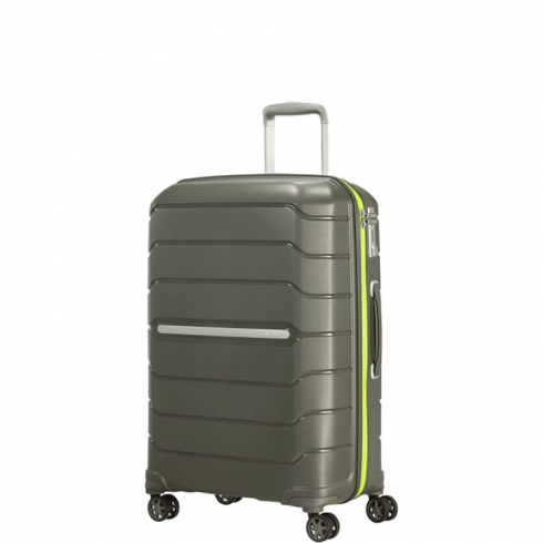 Valigia Trolley Flux Spinner Exp M Dark Olive